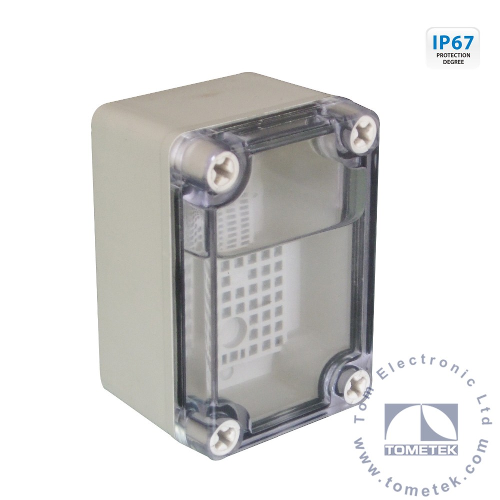 50*65*55mm IP67 mini hard plastic junction box project case