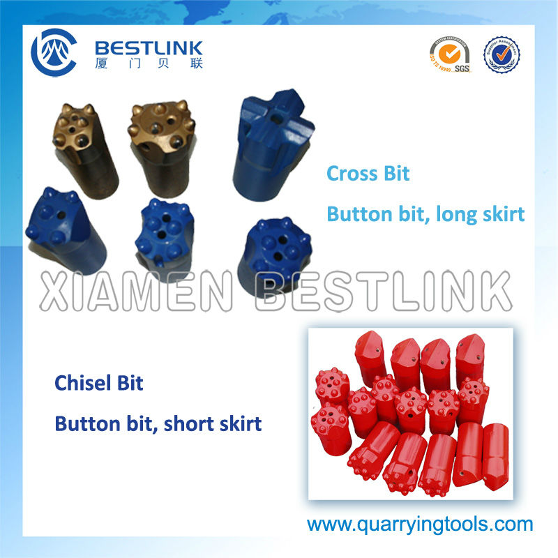 China Rock Drill Tungsten Carbide Button Bits