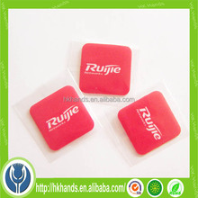 most popular! brand logo printed best choice for commercial smartphone sticky microfiber screen cleaner