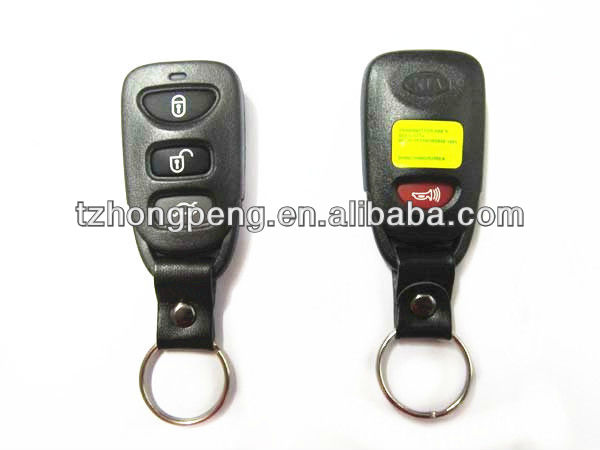 3 button replacement car remote key shell for kia cerato key