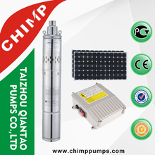 2017 dc solar powered submersible water pump for irrigation
