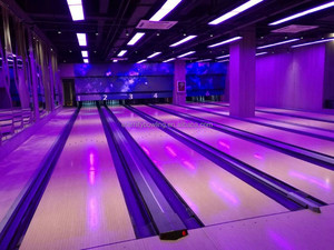 Full Glow Bowling Lane Cheap Price Entertainment Center Bowling Lane