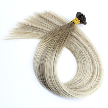 Last 12 Months Double Drawn Full Cuticle U Tip Prebonded Hair Blond 100 Keratin Tipped Hair Extension