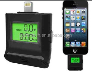 alcohol tester for iphone drive safety digital alcohol tester