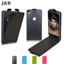 J&R Brand Wallet Leather Case For Alcatel One Touch Idol 2 Mini S 6036 6036Y Flip Cover with Stand and Bank Card Holder 9 Colors