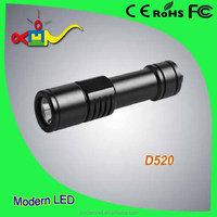 Diving waterproof 10w LED strong flash light 800lm
