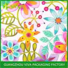 Bright Floral custom gift wrap paper manufacturer