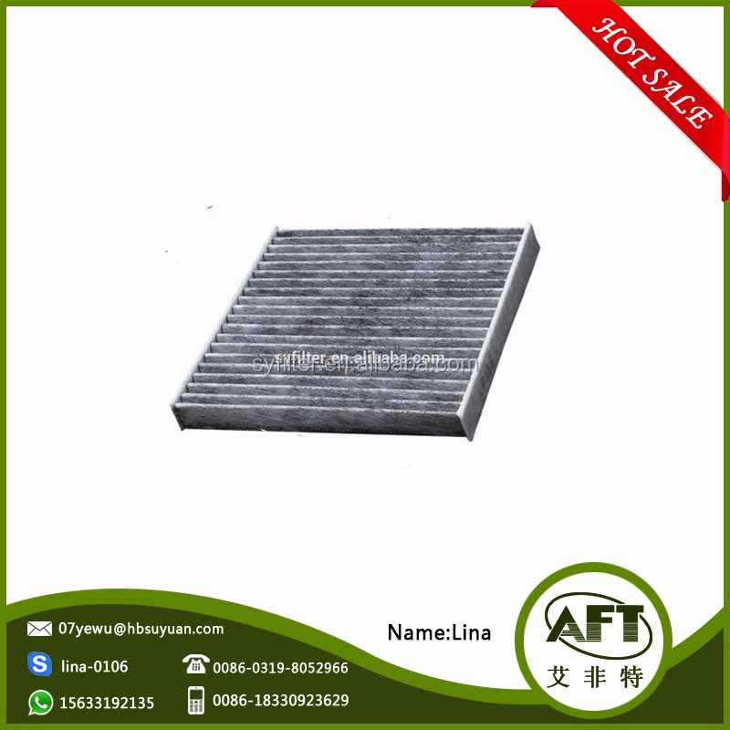 Chinese factory production of high-performance cars activated carbon filter 97133-2E200
