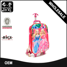 High quality 3D EVA kids cartoon picture of school bag