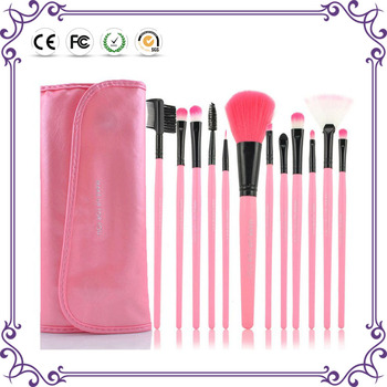 2018 wholesale beauty equipment 12pcs vegan make up brushes private label synthetic hair maquillaje