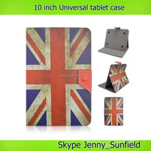 country flag print slim fit Universal tablet case 10 inch