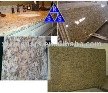 Yellow Santa Cecilia Granite Laminate Countertops - Buy Yellow Granite ...