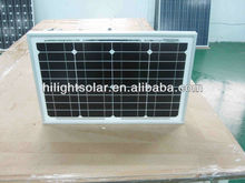 supply high quality solar panel price india 20W