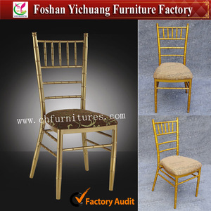 YC-A18-21 Chiavari chair with seat cushion for wedding and garden