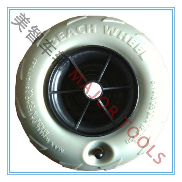 250X110mm pneumatic tyre balloon inflatable rubber wheels for beach cart