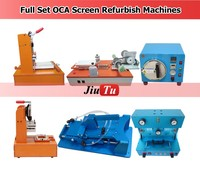 Mobile Phone LCD Repair Machine Vacuum OCA Lamination Machine LCD Mid Frame Separating Machine