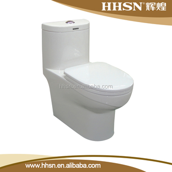 HS1509 One piece ceramic elongated wc toilet