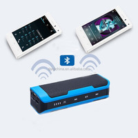 Portable Bluetooth Speaker with power bank 4000mAh Battery FM Radio Touch Control