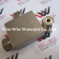 Waterjet spare parts HP Tee suit for kmt flow and all brand water jet cutting machines