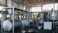 Eco friendly automatic continuous waste plastic pyrolysis plant