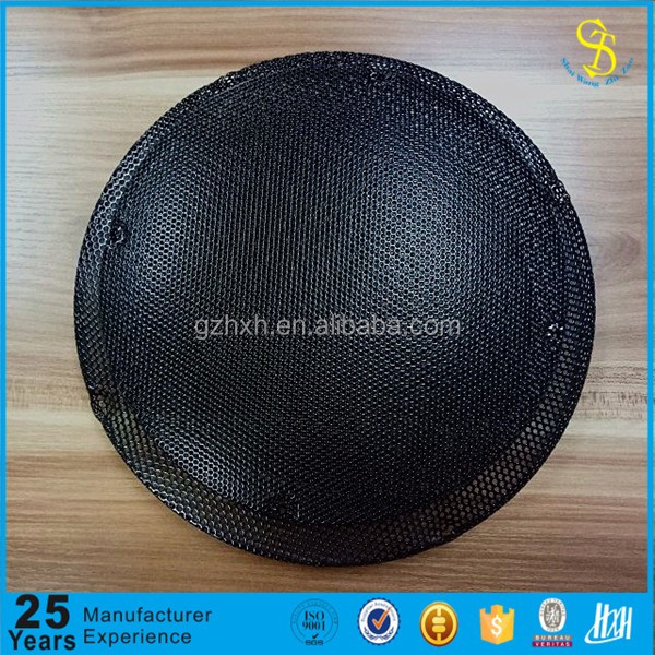 Customed-made round speaker net, mini speaker mesh cover, speaker grill box cover