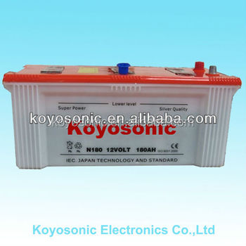 Dry cell car battery for car self Dry Battery for Car Starting dry cell rechargeable battery