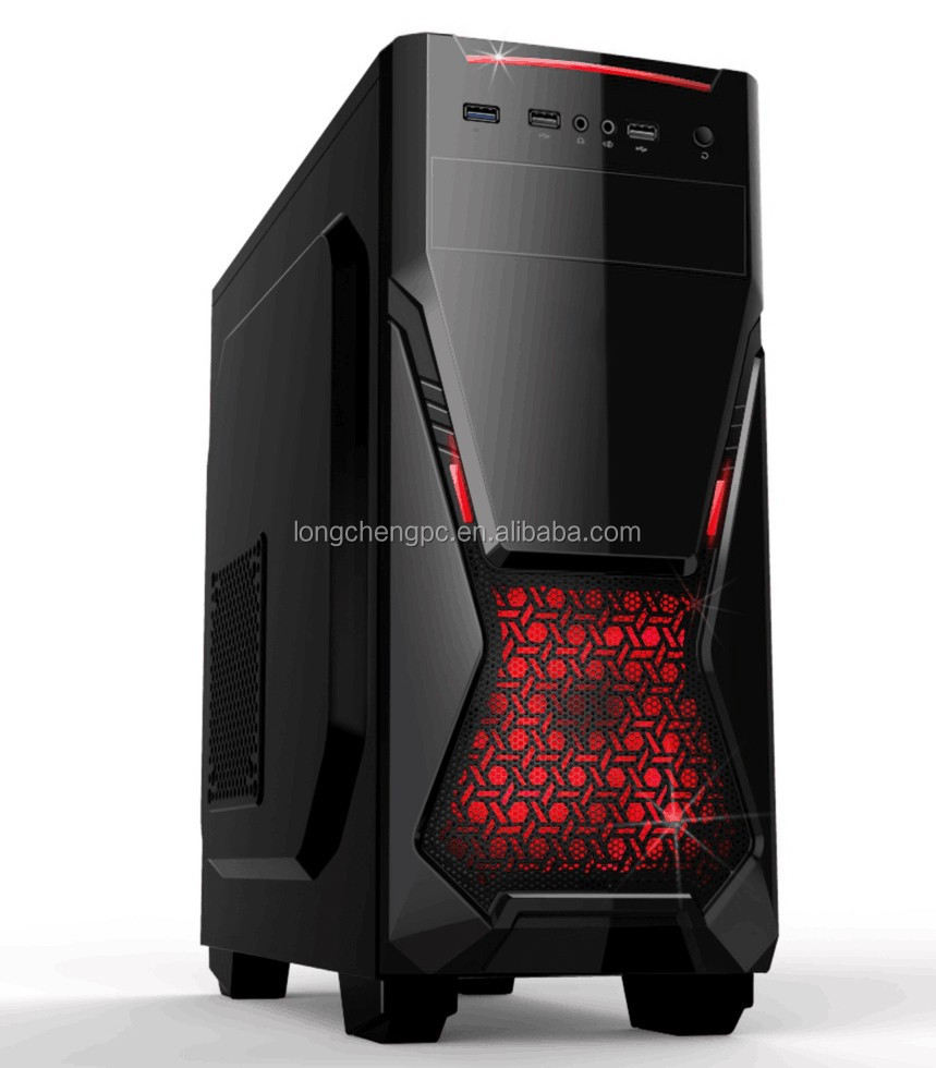 hotsale!! new gaming atx computer case/gaming case/gaming full tower pc case