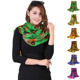 2018 New Model Multi Color Large Sun Protection Printing Custom Scarf Shawl