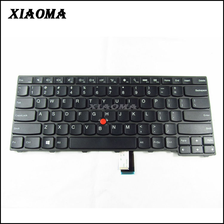 Wholesale laptop notebook keyboard for IBM Lenovo Thinkpad E431 E440 Series US layout no backlight