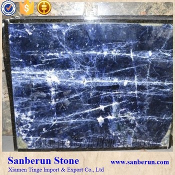 High Grade Sodalite Blue Marble