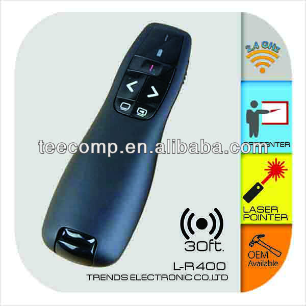 Wireless Presenter powerpoint wireless presentation laser pointer L-R400