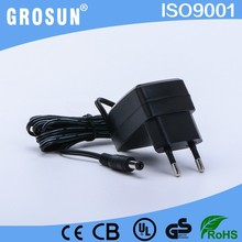 220Vac to 12V Dc Power Supply 12V 1.2A Wall Mount Adapter with UL/CUL CE GS(LVD)/EMC charger