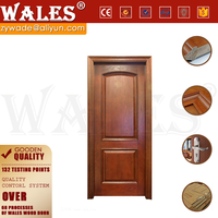 Whole panel design wooden flush solid core classroom door