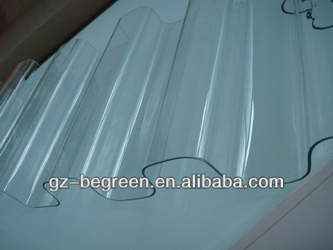 lexan clear polycarbonate roofing tile,PC transparent roof tile