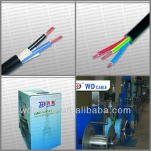 Factory price 400mm power cable 4 core power cable