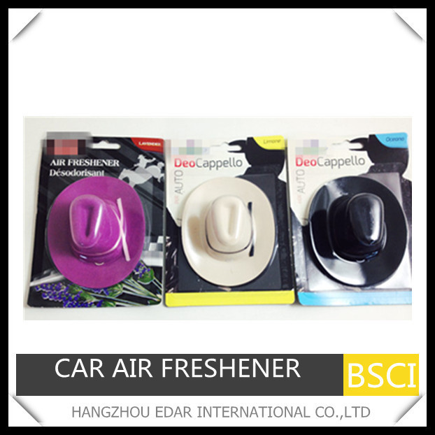 cowboy hat hanging car air freshener