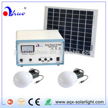JiaXing 10W Solar Home Lighting Systems with 2Pieces 3W LED Lamps