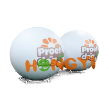 PVC helium ballon advertising promotion Inflatable lift the ball factory custom outdoor festival event model