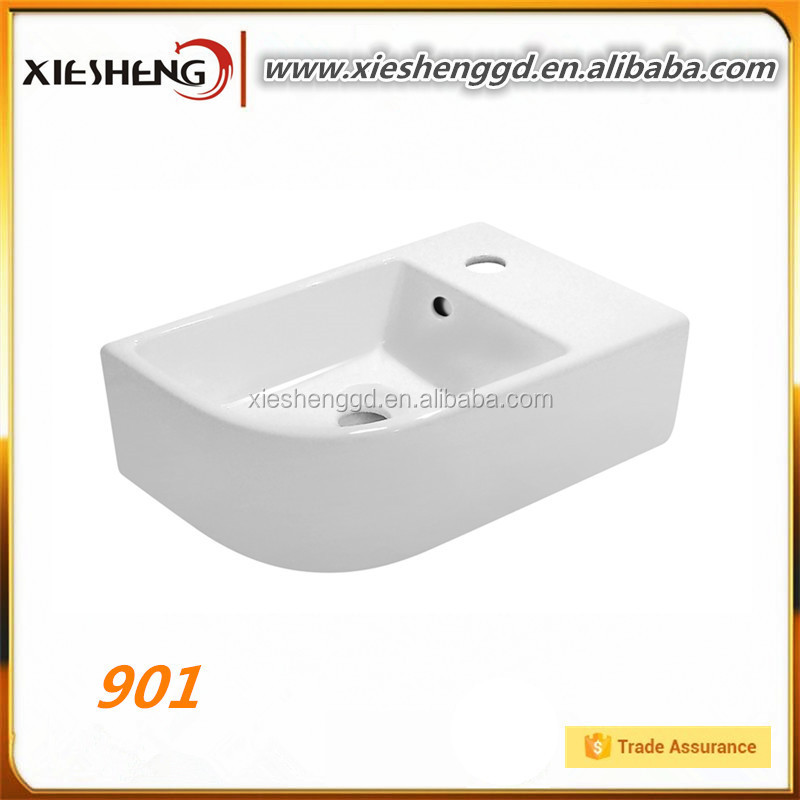 cabinet basin elegant face basin fashion design tap in the shower room