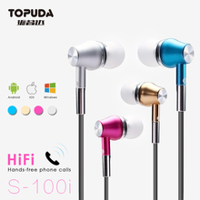 OEM cheap colorful earphones for iPhone 6