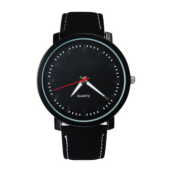 Neutral Creative Black Design Wristwatch Breathe Freely Strap Sports Watches
