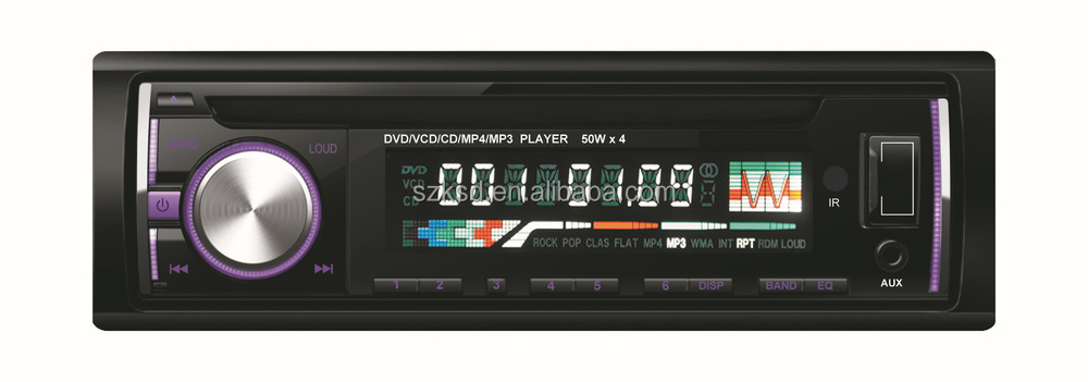 1Din Car DVD/VCD/CD/MP4/MP3/AM/FM Player KSD-3238