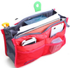 Expandable 13 Pocket Handbag Insert Purse Organizer with Handles