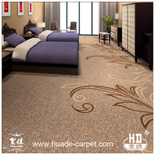 80% Wool Wall to Wall Hotel Carpet
