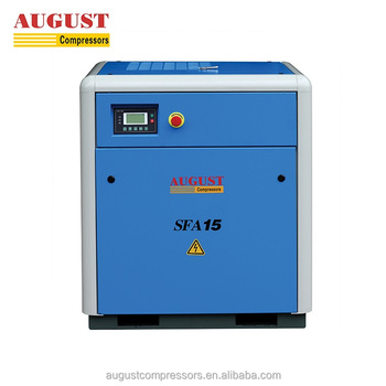 AUGUST 15KW 20HP stationary air cooled screw type air compressor