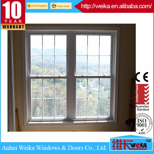 Swing opening UPVC profile doors and pvc windows double glass casement window