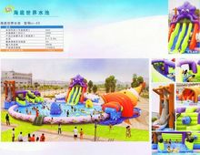 water park inflatable water slide with best price