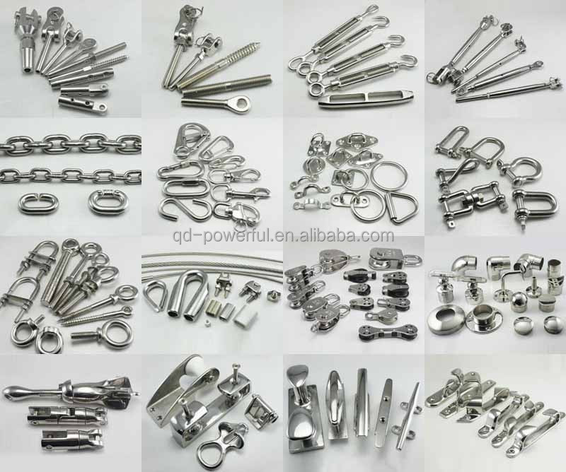 marine stainless steel boat hardwares