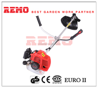 small hand wood cutter 51.7cc gasoline engine brush cutter