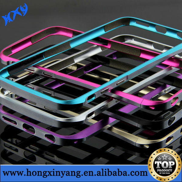 Double color 100% real metal aluminum bumper for iPhone 6